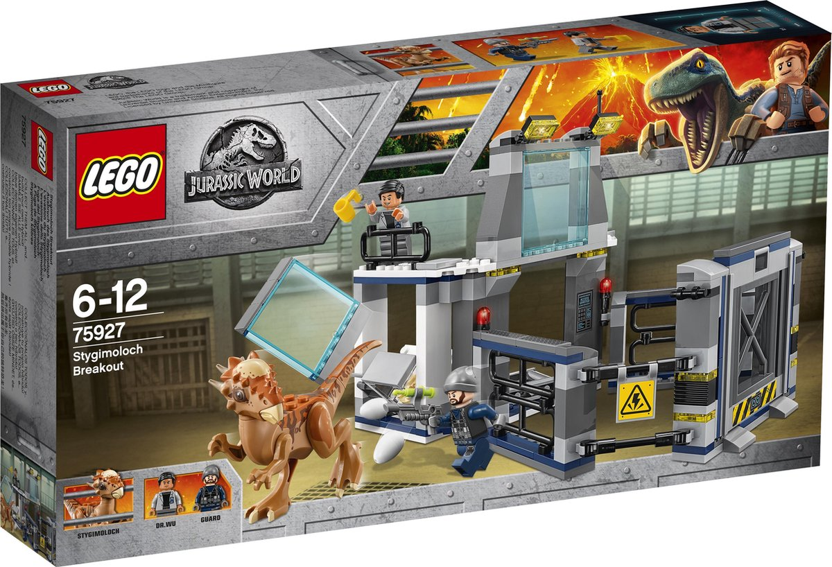 LEGO Jurassic World Ontsnapping van Stygimoloch - 75927 - LEGO