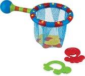 Afbeelding van Nûby - Badspeelgoed - Visnet met 4 badspeeltjes - 18m+ speelgoed