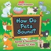 How Do Pets Sound? Sense & Sensation Books for Kids
