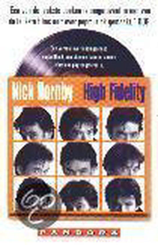 Boek cover High fidelity film ed van Nick Hornby