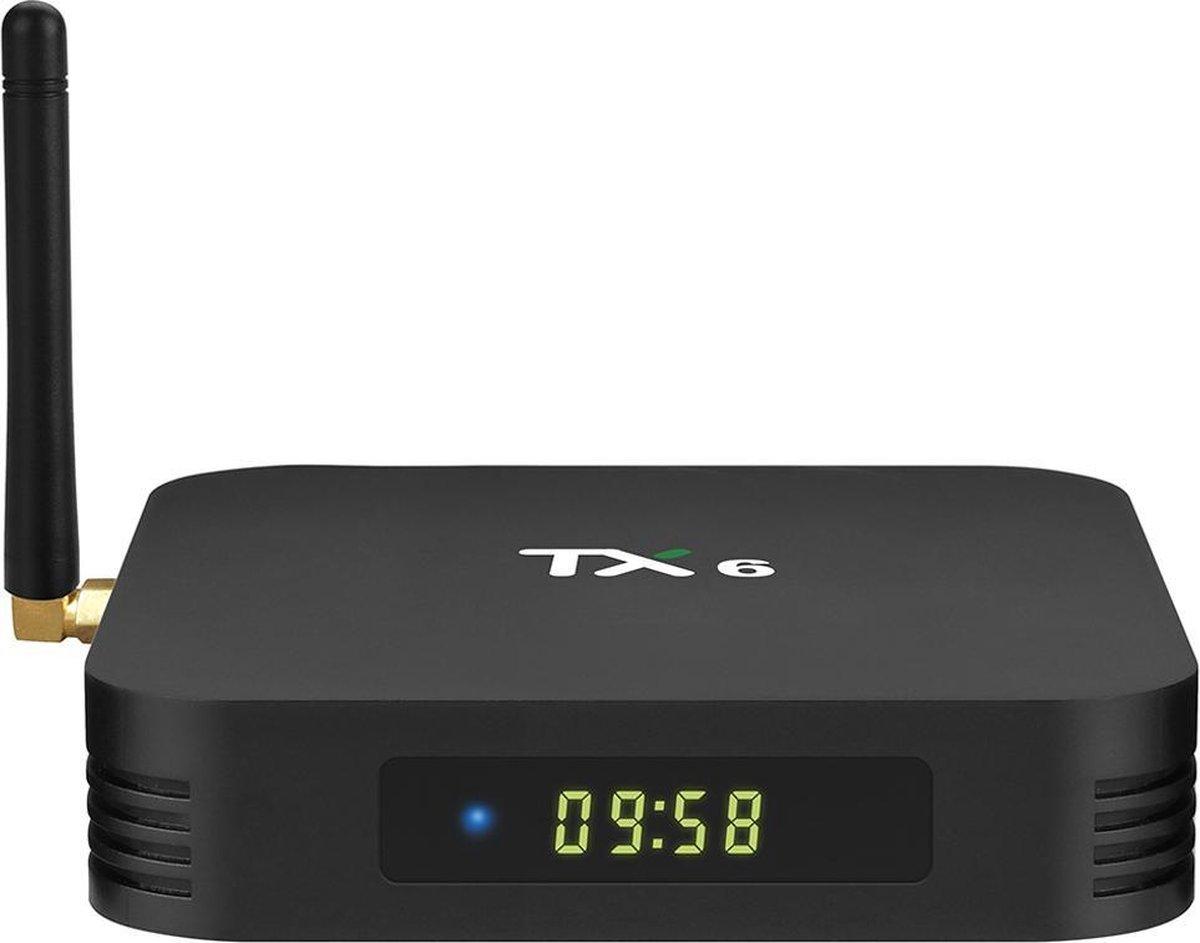 TX6 mediaspeler | 4/32 GB | Android 9 | Allwinner H6 | KODI 18.4  | Android tv box model 2020
