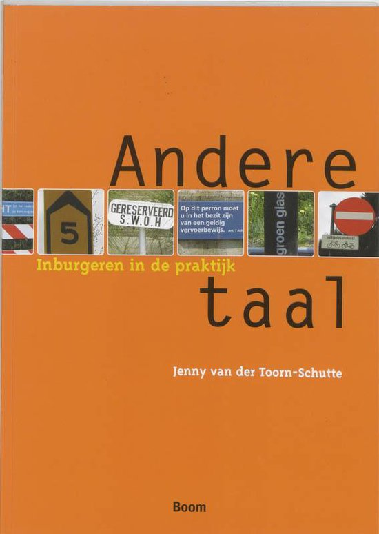 Andere taal - Jenny van der Toorn-Schutte |