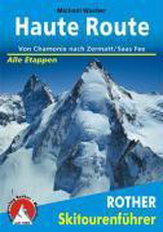 Cover van het boek 'Haute Route Rother Skitoirenfuhrer'