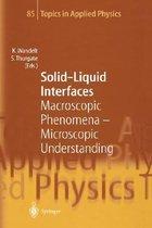 Solid-Liquid Interfaces