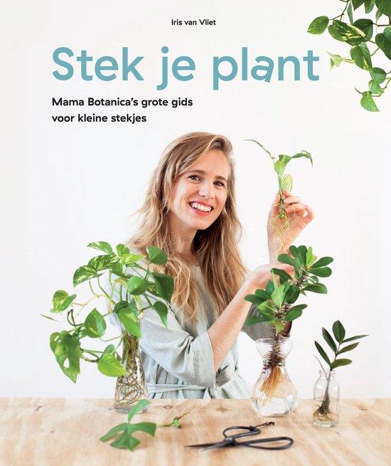 Boek cover Stek Je Plant van Iris van Vliet (Hardcover)