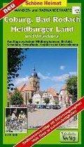Lutherweg in Sachsen 1 : 50 000 Rad- und Wanderkarte