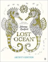 Lost Ocean Artist's Edition: An Inky Adventure and Coloring Book for Adults