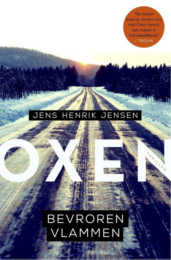 Oxen 3 - Bevroren vlammen - Jens Henrik Jensen |