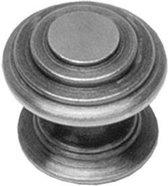 Intersteel Meubelknop rond punt ø 35 mm oud grijs