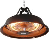 MaxxGarden Terrasverwarmer - Hangend - Retro design - 1500W