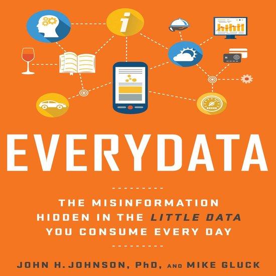 Boek cover Everydata van Mike Gluck (Onbekend)