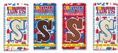 Tony's Chocolonely Sint Chocolade Letter Reep Cadeau Mix - 4 x 180gr