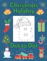 Christmas Holiday Dot To Dot