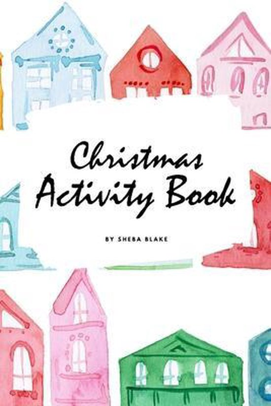 Christmas Activity Book for Children (6x9 Coloring Book / Activity Book)
