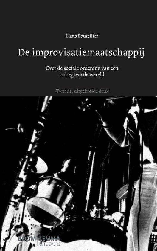 Boek cover De improvisatiemaatschappij van Hans Boutellier