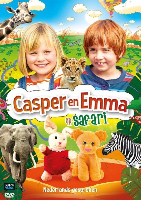 Casper en Emma - Op Safari - Movie