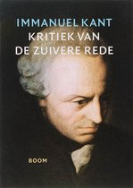 Boek cover Kritiek van de zuivere rede van Immanuel Kant (Paperback)