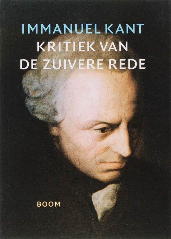 Boek cover Kritiek van de zuivere rede van Immanuel Kant