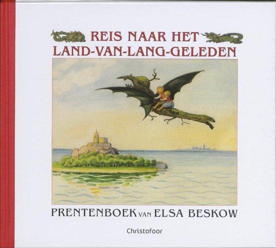 Omslag van Elsa Beskow klassiekers  -   Reis naar het Land-van-Lang-Geleden