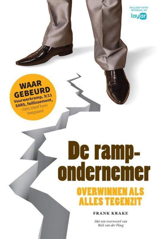 Boek cover De rampondernemer, businessedi van Frank Krake (Hardcover)