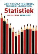 Boek cover Statistiek van James Mcclave (Paperback)