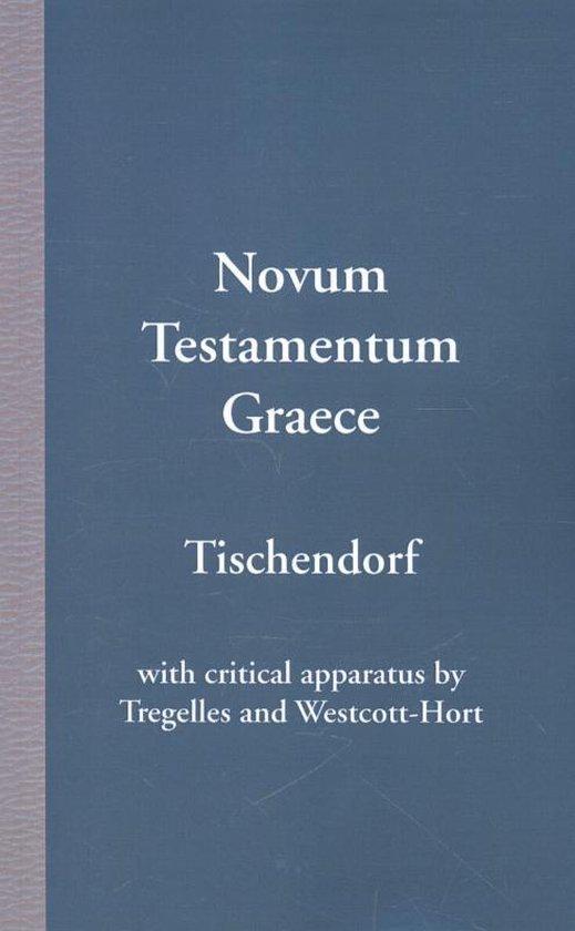 Boek cover Novum Testamentum Graece van Konstantin Von Tischendorf (Paperback)