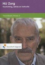 Boek cover NU Zorg  - Voorlichting, advies en instructie Niveau 3 Theorieboek van