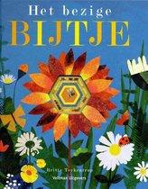 Boek cover Het bezige bijtje van Britta Teckentrup (Hardcover)