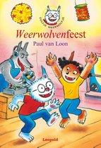 Boek cover Dolfje Weerwolfje 6 -   Weerwolvenfeest van Paul van Loon