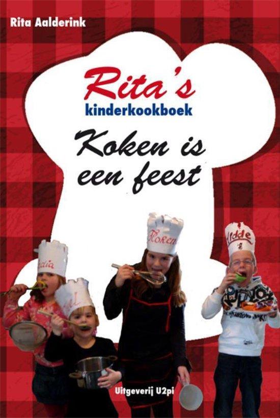 Cover van het boek 'Rita's kinderkookboek koken is een feest'