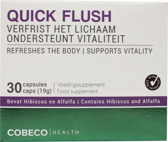 Quick Flush - Cobeco Health