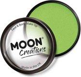 Moon Creations Schmink Pro Face Paint Cake Pots 36 Gram Lichtgroen