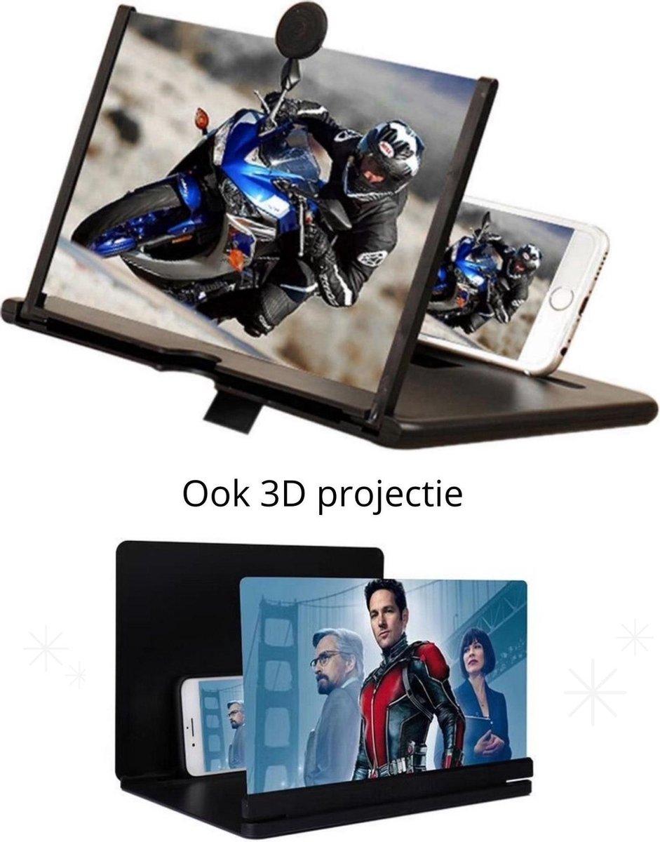 Beeldscherm vergroter| Vergrootglas voor smartphone | Schermvergroter| telefoon bioscoop| Telefoonsc