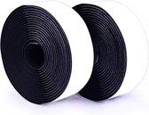 Qy zelfklevend klittenband tape 5 meter - breedte 2 cm