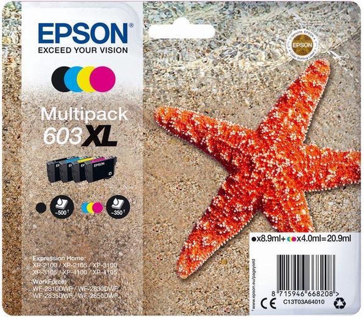 Epson 603XL - Inktcartridge / Multipack