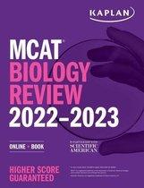 Boek cover MCAT Biology Review 2022-2023 van Kaplan Test Prep