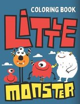 Little Monster Coloring Book
