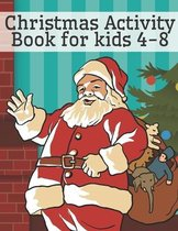 Christmas Activity Book for Kids 4-8
