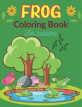 FROG Coloring Book For Toddlers