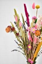 Droogbloemen - boeket 40 cm - Mixed Colors
