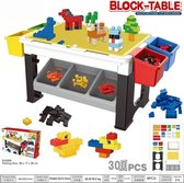 Speeltafel met bouwblokken en opbergvakjes 300pcs