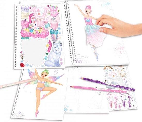 TOPModel Create your Fantasy Ballerina kleurboek, Ballet - Depesche