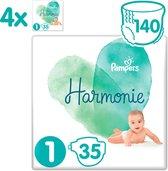 Pampers Harmonie / Pure Maat 1 (2-5 kg) 140 luiers