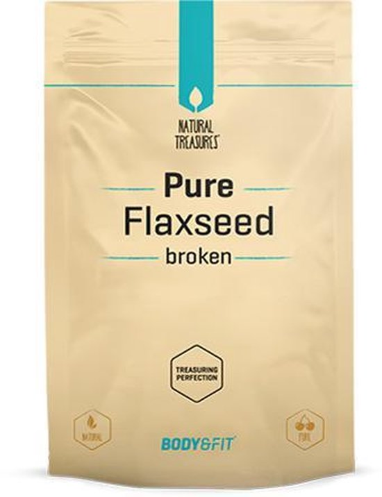 Body & Fit Superfoods - Pure Lijnzaad gebroken - 500 gram