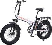 "Elektrische Fiets|Elektrische Fatbike |  500W 20 "" Opvouwbaar 4.0 Fat Tire Motor 48V 15A  |  Vouwfiets  Compact  |  Lithium batterij 7 snelheden"