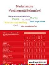 Boek cover Nederlandse Voedingsmiddelentabel van  (Paperback)