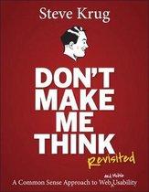 Boek cover Dont Make Me Think, Revisited van Steve Krug (Paperback)