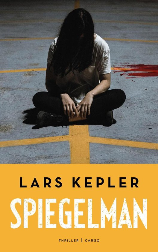 Boek cover Spiegelman van Lars Kepler (Onbekend)