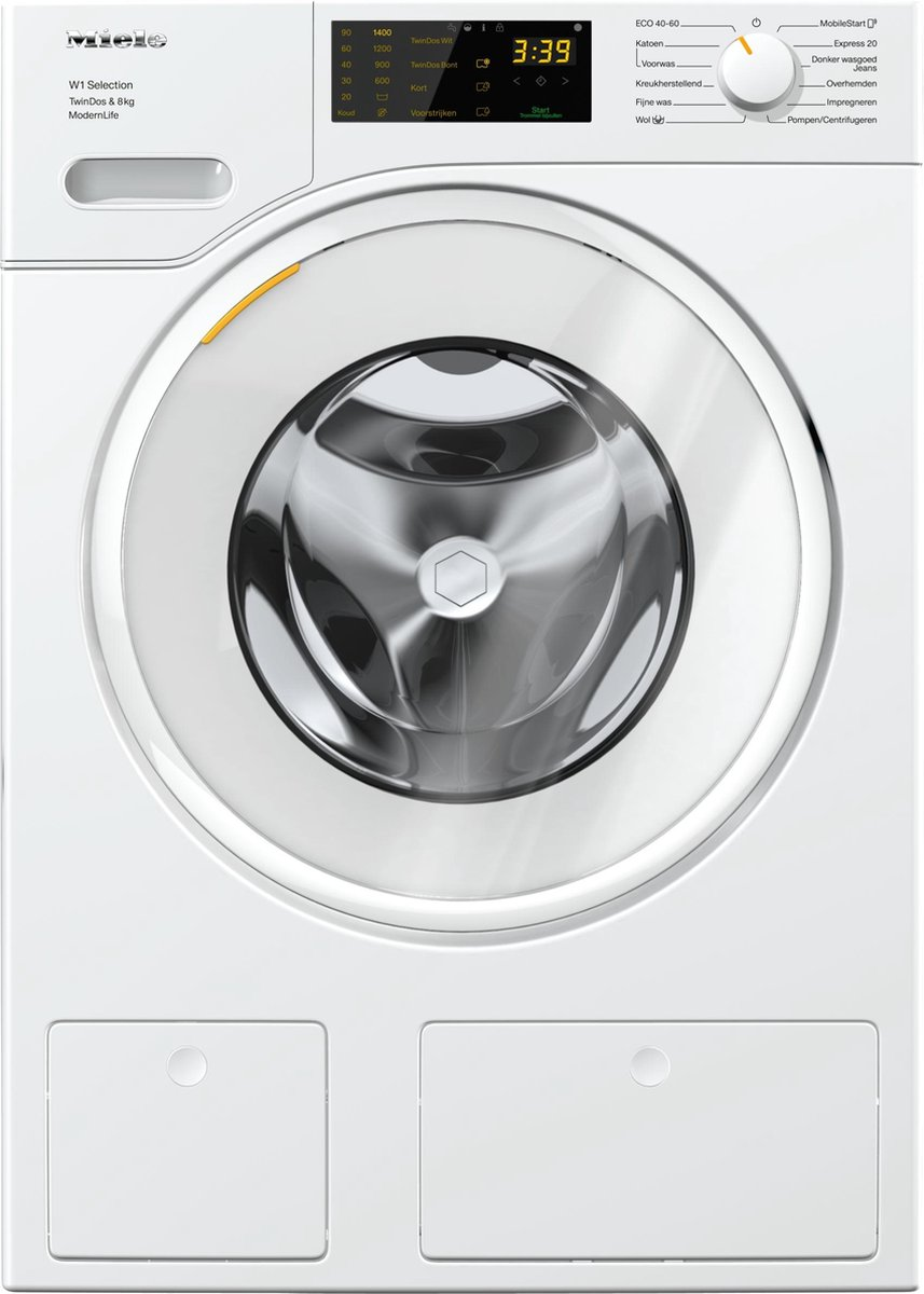 Miele WSD 663 WCS TwinDos – Wasmachine