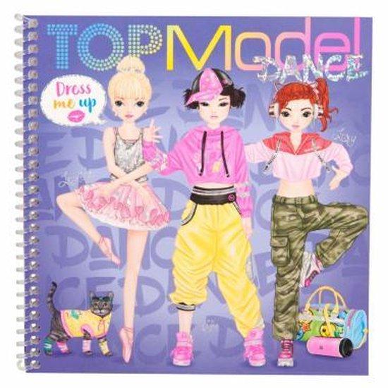 Topmodel Stickerboek - Dress me Up DANCE
